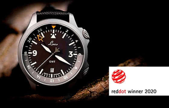 Red Dot Award – Laco GMT Fliegeruhr