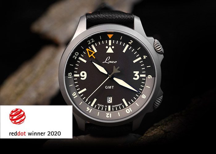 Red Dot Award – Laco GMT Fliegeruhren