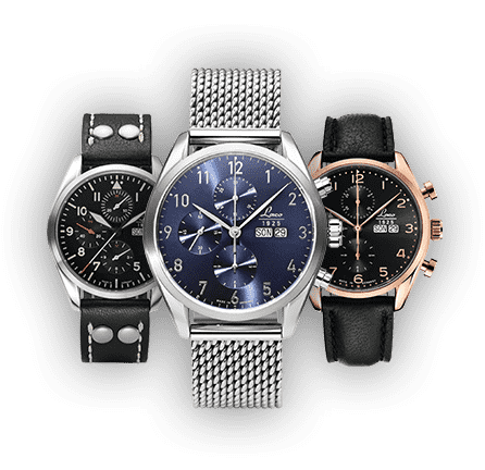 Chronographs by Laco
