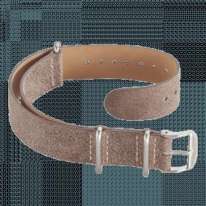 Accessories Leather Nato strap brown