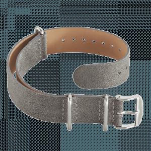 Accessories Leather Nato strap grey