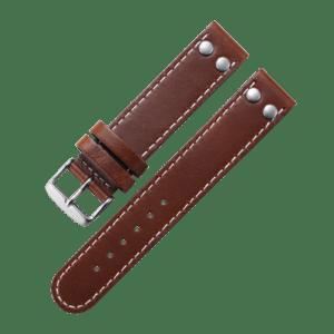 Pilot strap brown 18 mm