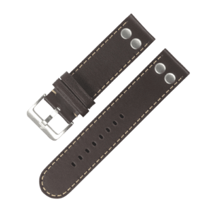 Pilot strap darkbrown 20 mm