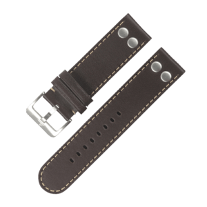 Pilot strap darkbrown XXL 22 mm