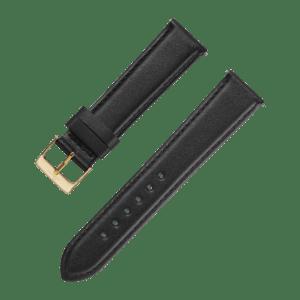 Accessories Leatherstrap black 20 mm