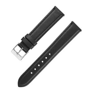 Accessories Leatherstrap black 20 mm