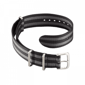 Accessories Nato strap black-grey 18 mm
