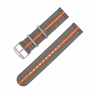 Accessories Nylon strap GMT grey/orange