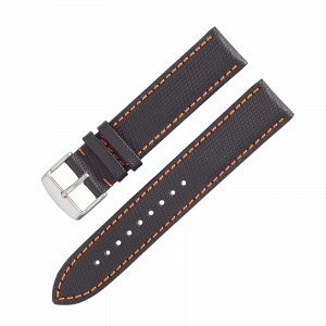 Accessories Leather strap Nytech GMT black/orange