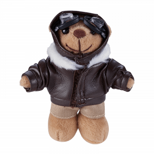 "Accessories Keyholder ""Teddy pilot"""