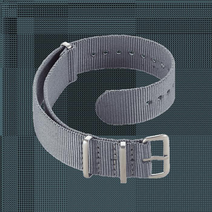 Accessories Nato strap grey 18 mm