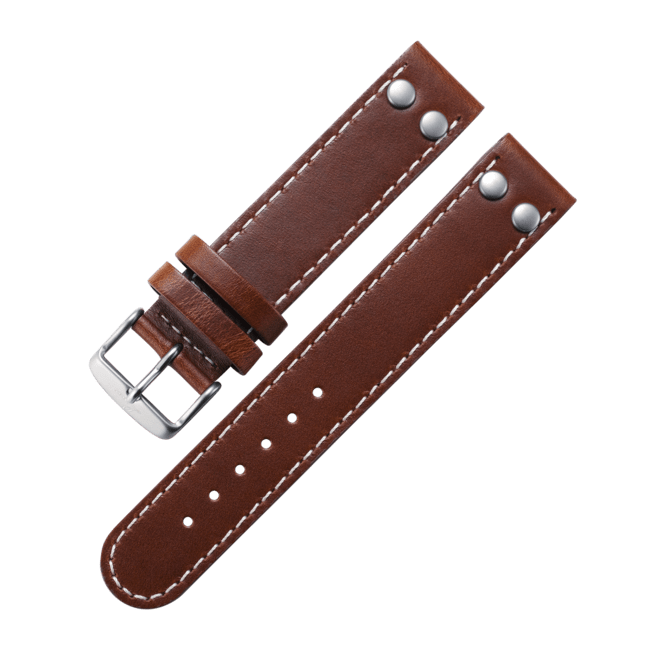 Pilot strap brown 18 mm