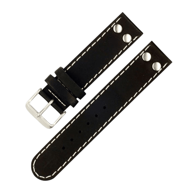 Pilot strap black XL 22 mm
