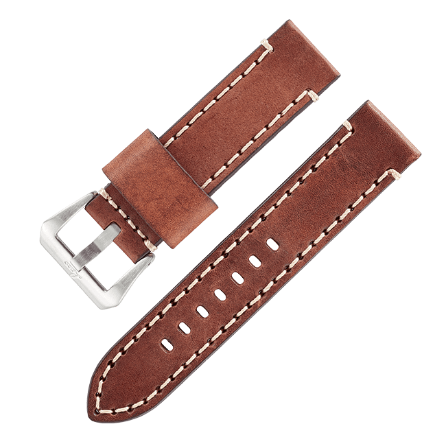 "Accessories Vintage leather strap ""New York"""