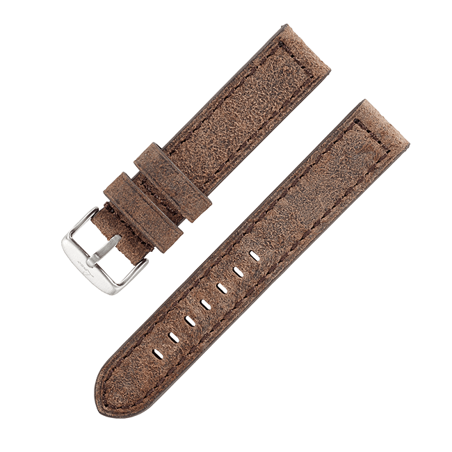 "Leather strap ""Basel"""