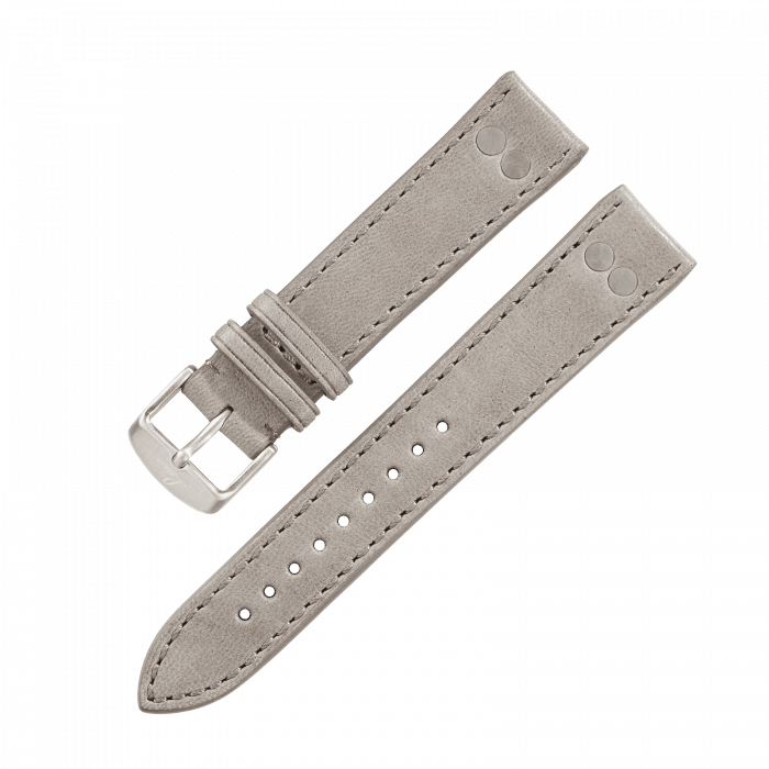 Accessories Leather strap grey 20 mm