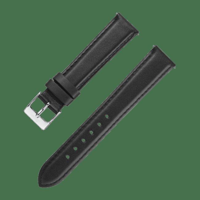 Accessories Leatherstrap black 18 mm
