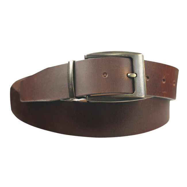 Leather belt Vintage Look