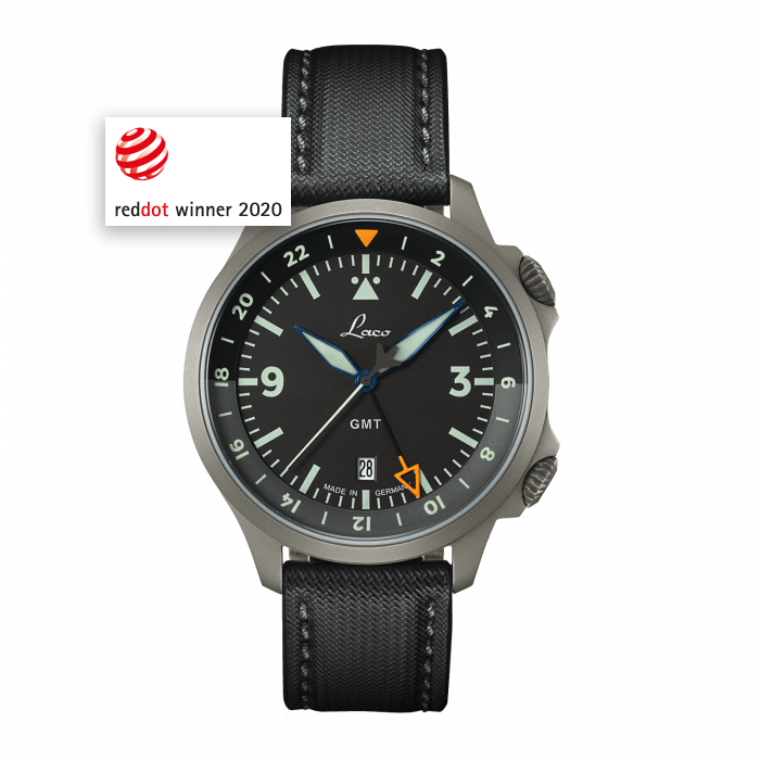 Pilot Watches Special Models FRANKFURT GMT SCHWARZ